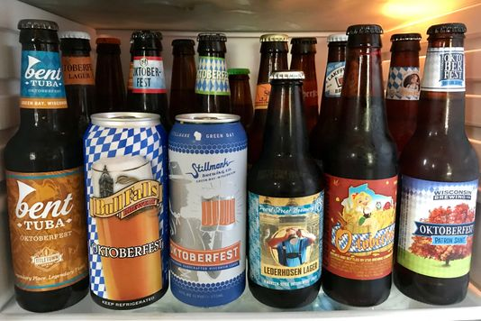 Blind taste test of 18 Wisconsin-brewed Oktoberfest beers.