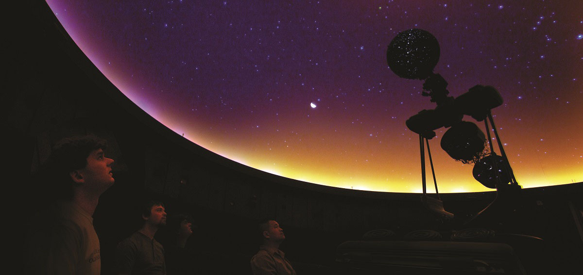 Holiday Shows at the UW-Stevens Point Planetarium