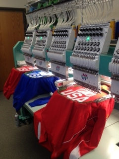 Mada Custom Apparel is honored to have provided decorated apparel for our 2014 USA Curling Olympians