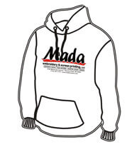 Mada Hoodie Front