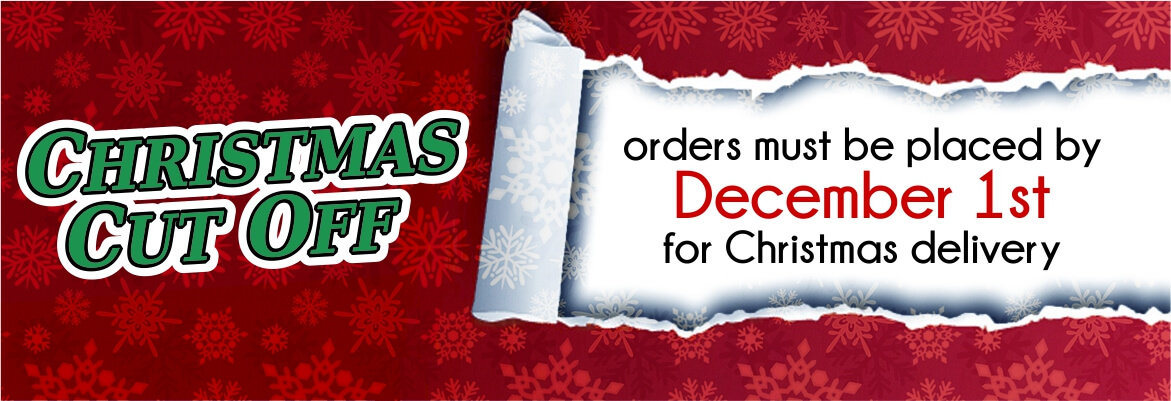 christmas cut off banner