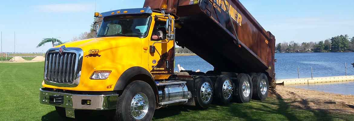 excavation company in Plover, WI