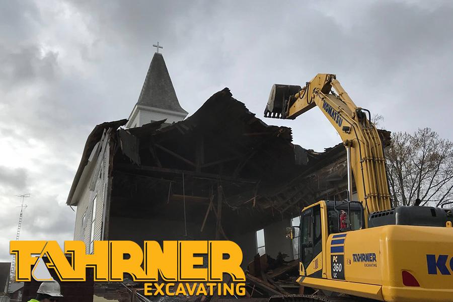 Demolition Services in Wild Rose, WI