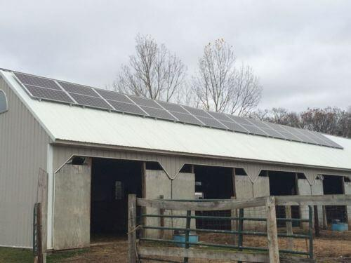 Custer Horse Stable Installation - Custer, WI