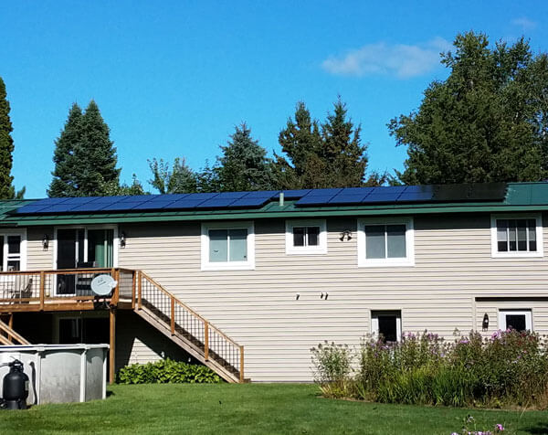 Residential PV Systems in Central Wisconsin