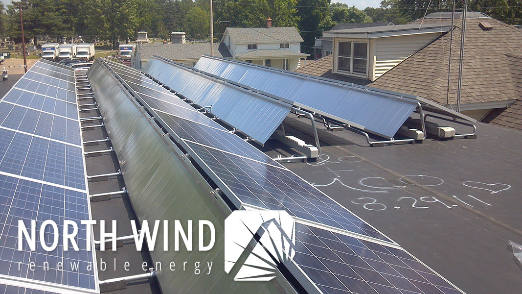 solar panels for libraries in Wisconsin