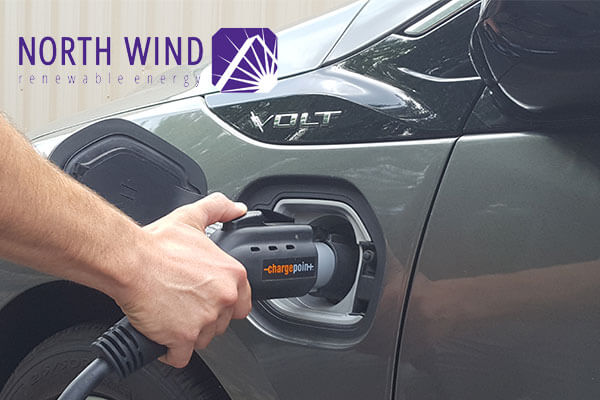 EV charging station installations in Wisconsin