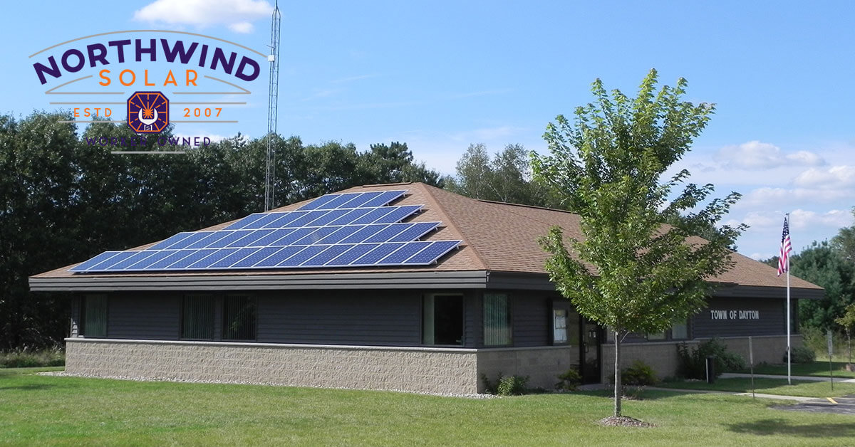 solar panels for local governments in Appleton, WI