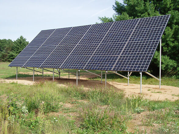We Install Solar Panels In Wood County
