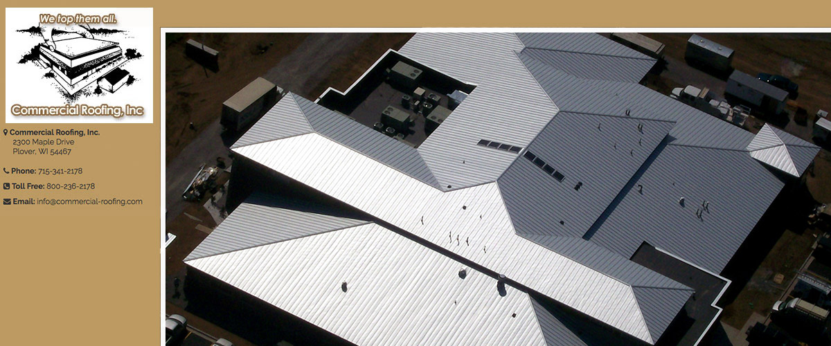 Commercial Roofing in Shawano, WI