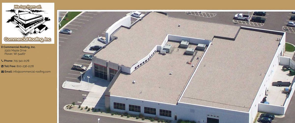 Carlisle SynTec Roofing in Central Wisconsin
