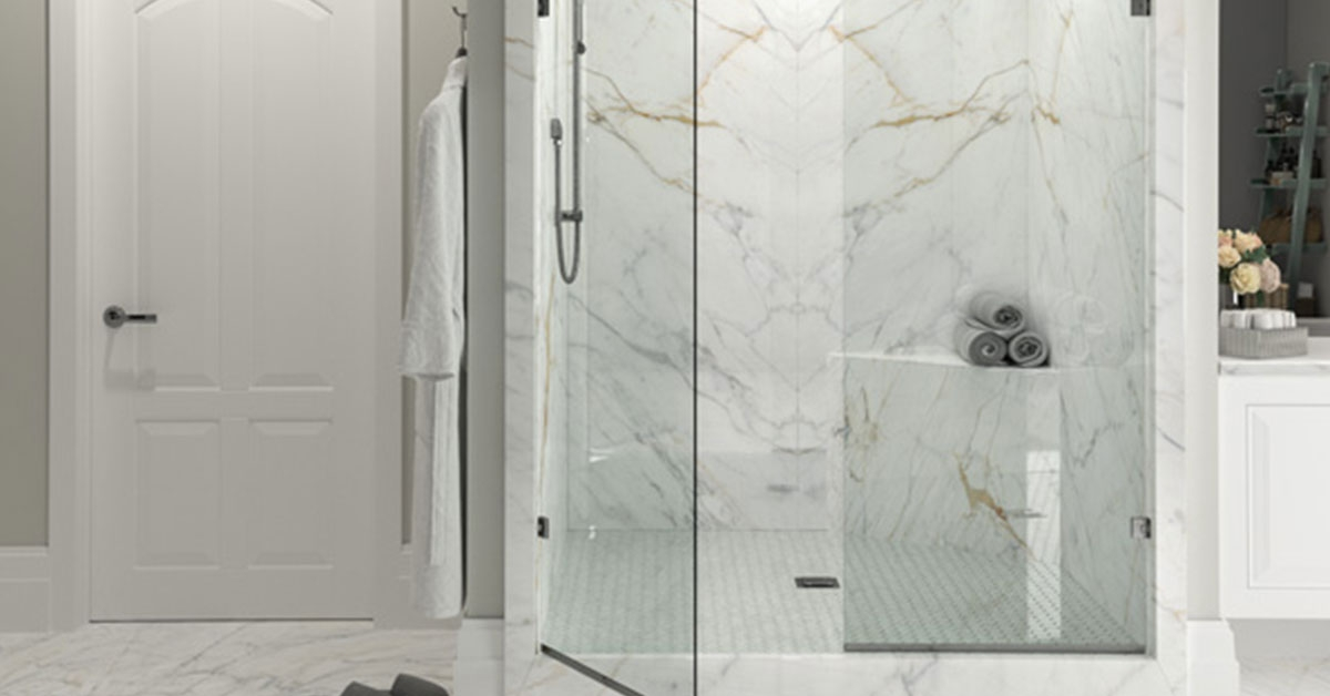 Stone Slab Showers