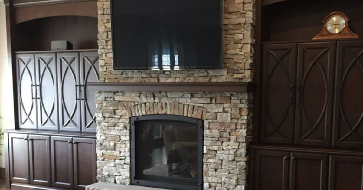 Stone Fireplace Surrounds