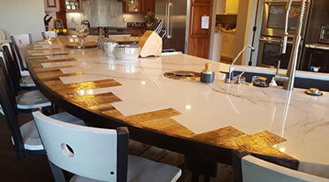 stone countertops in Plover, WI