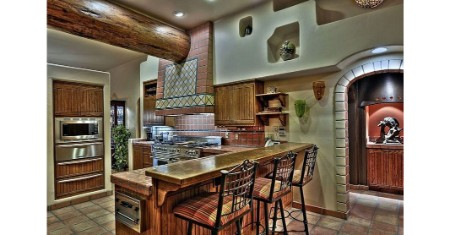 spanish revival kitchen